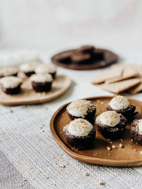 S'more Brownie Bites