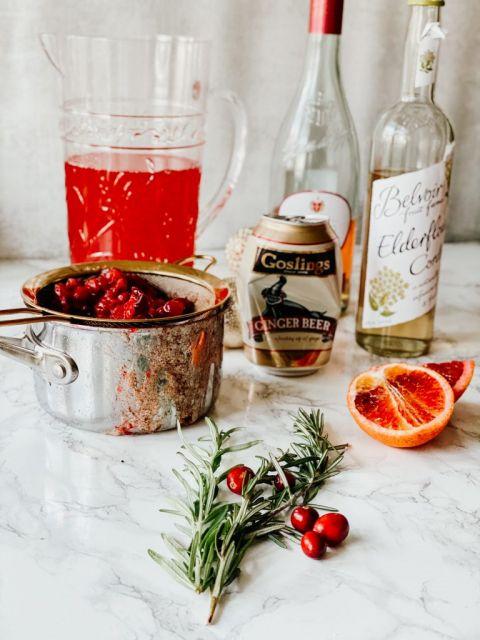Cranberry Spritzer